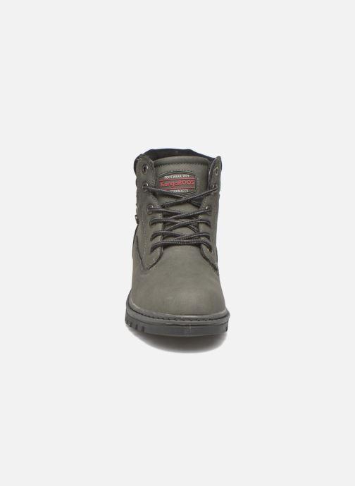 Bottines et boots Kangaroos Riveter JR Gris vue portées chaussures