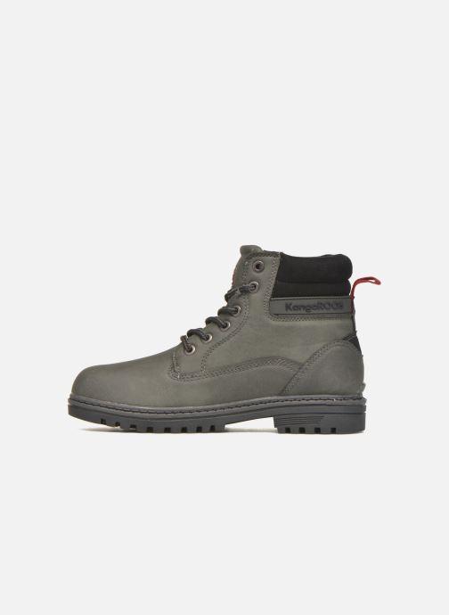 Stiefeletten & Boots Kangaroos Riveter JR grau ansicht von vorne