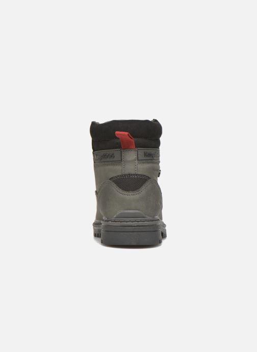 Bottines et boots Kangaroos Riveter JR Gris vue droite