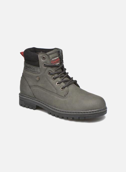Bottines et boots Kangaroos Riveter JR Gris vue détail/paire
