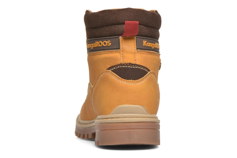 Boots en enkellaarsjes Kangaroos Riveter JR Beige rechts