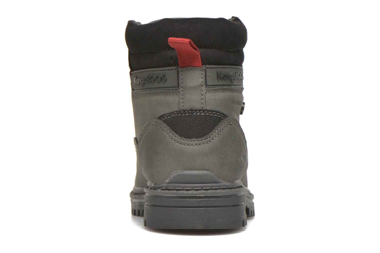Boots en enkellaarsjes Kangaroos Riveter JR Grijs rechts