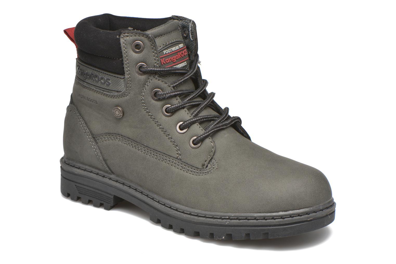 Boots en enkellaarsjes Kangaroos Riveter JR Grijs detail