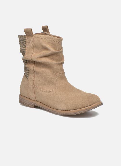 Bottines et boots TOMS Laurel Marron vue détail/paire