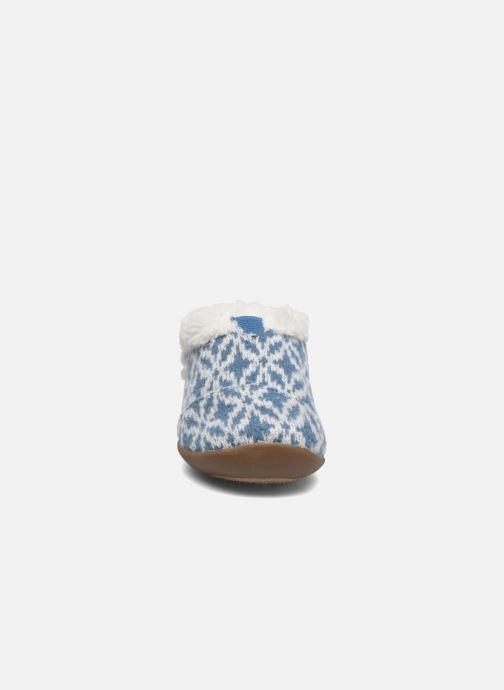 Chaussons TOMS House Slipper Bleu vue portées chaussures