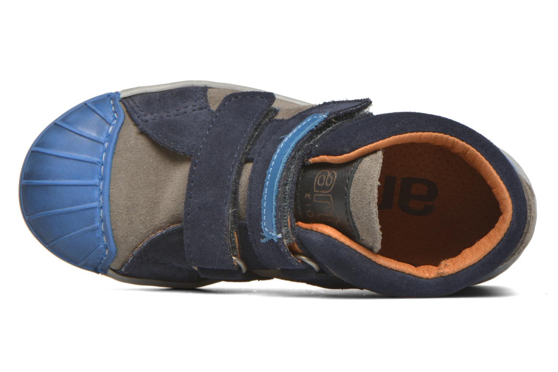Baskets Art A061 Split Bleu vue gauche