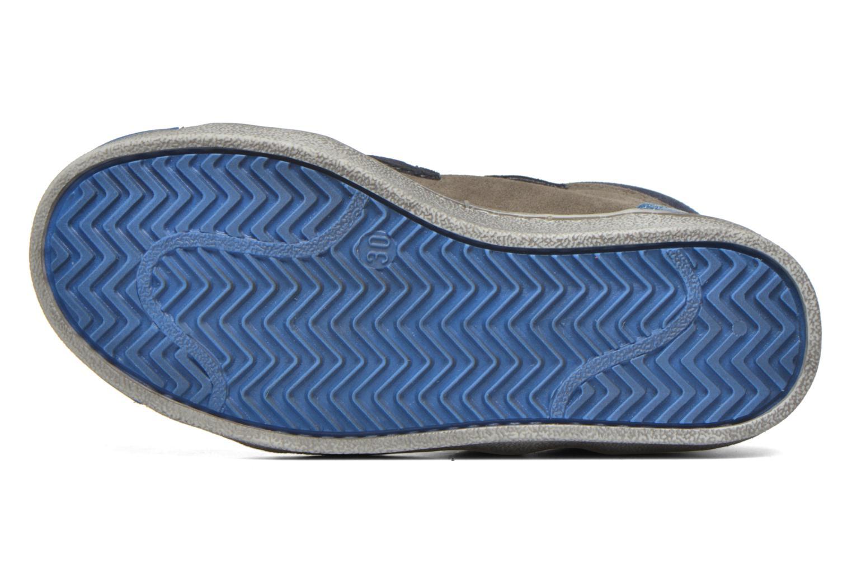 Baskets Art A061 Split Bleu vue haut