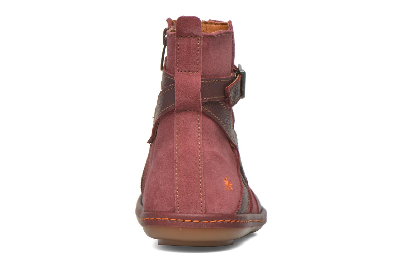 Bottines et boots Art A662 Kio Rouge vue droite