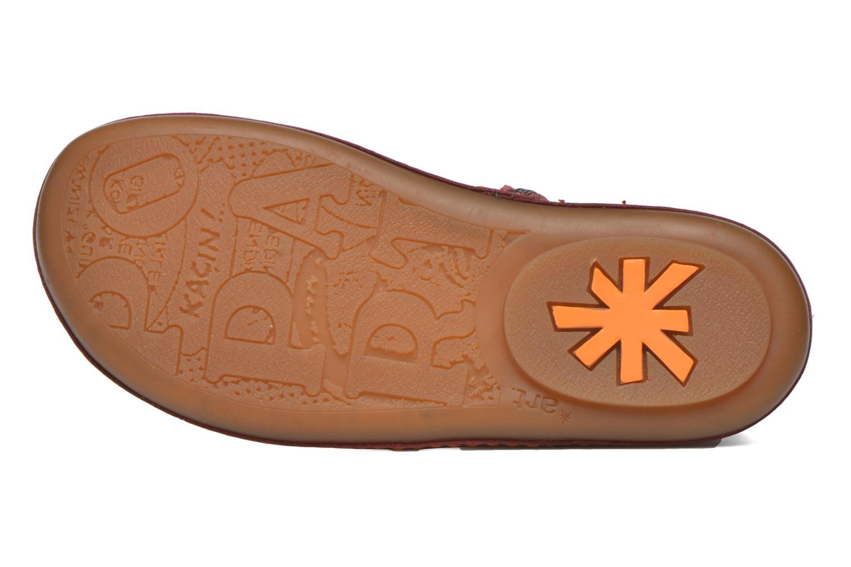 Bottines et boots Art A662 Kio Rouge vue haut