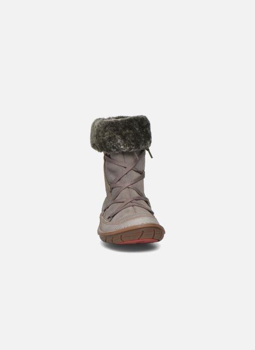 Bottes Art A764 Berlin Gris vue portées chaussures