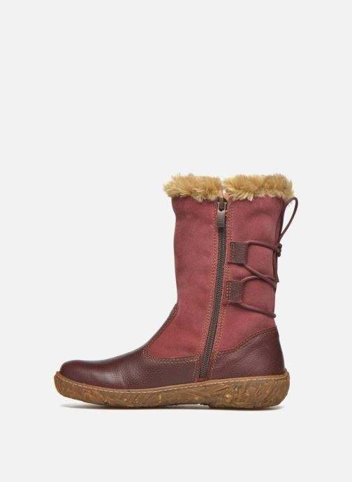 Boots & wellies El Naturalista E755 Nido Burgundy front view