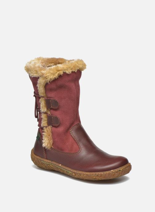 Boots & wellies El Naturalista E755 Nido Burgundy detailed view/ Pair view