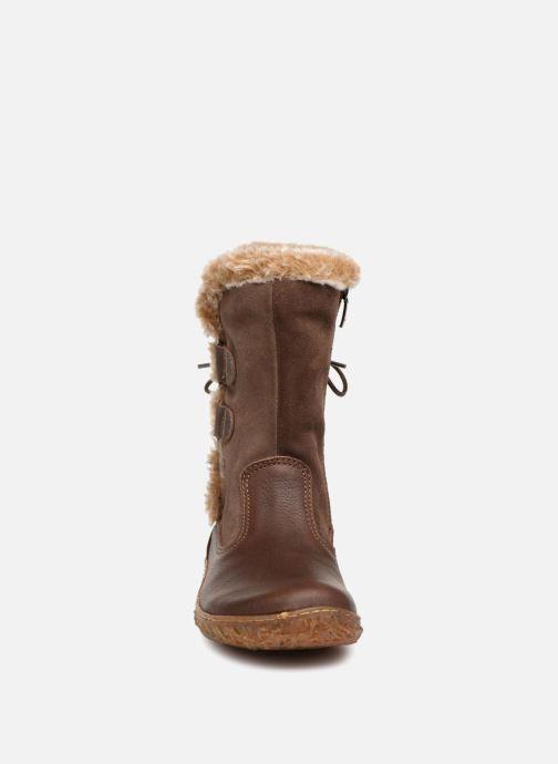 Boots & wellies El Naturalista E755 Nido Brown model view