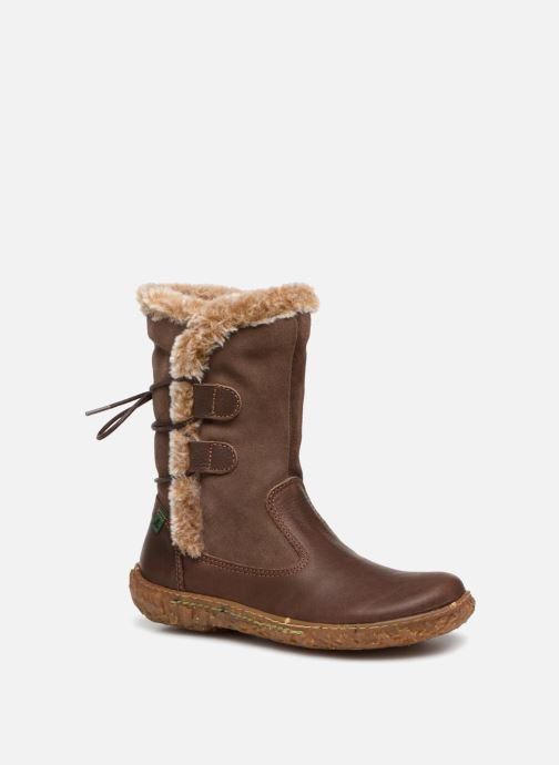 Boots & wellies El Naturalista E755 Nido Brown detailed view/ Pair view