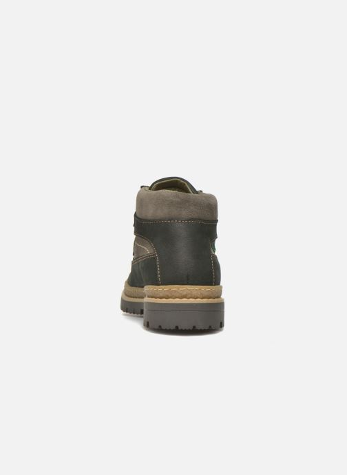 Ankle boots El Naturalista E152 Ficus Black view from the right