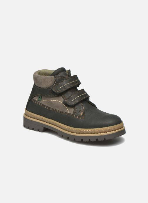 Ankle boots El Naturalista E152 Ficus Black detailed view/ Pair view