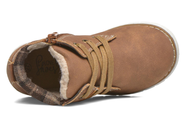 Bottines et boots I Love Shoes xuPHILMO Marron vue gauche