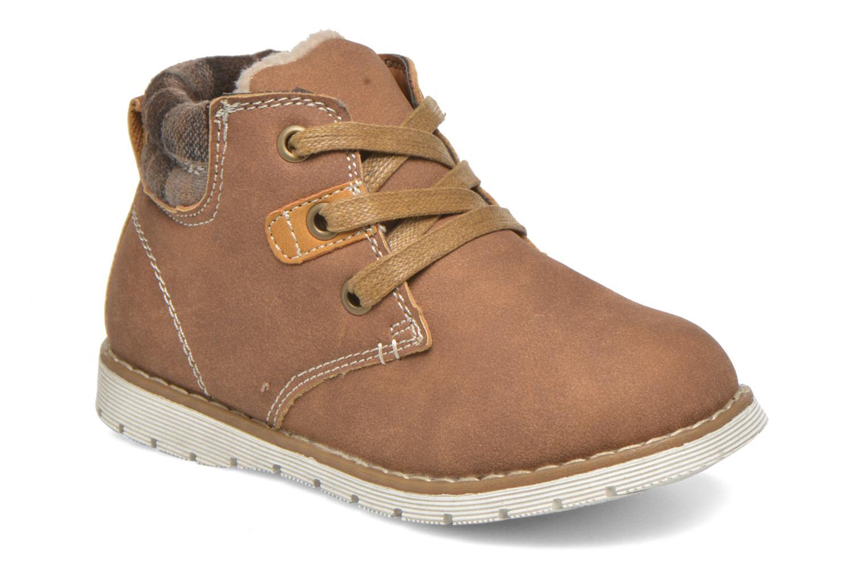 Bottines et boots I Love Shoes xuPHILMO Marron vue détail/paire
