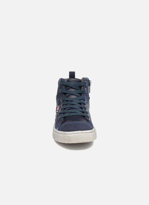 Baskets I Love Shoes xEPHRE Bleu vue portées chaussures