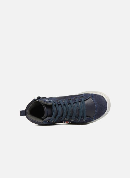 Baskets I Love Shoes xEPHRE Bleu vue gauche