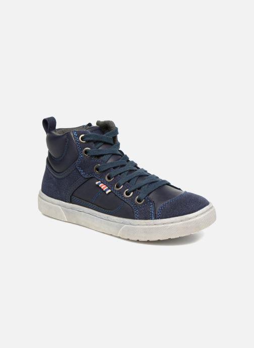 Baskets I Love Shoes xEPHRE Bleu vue détail/paire