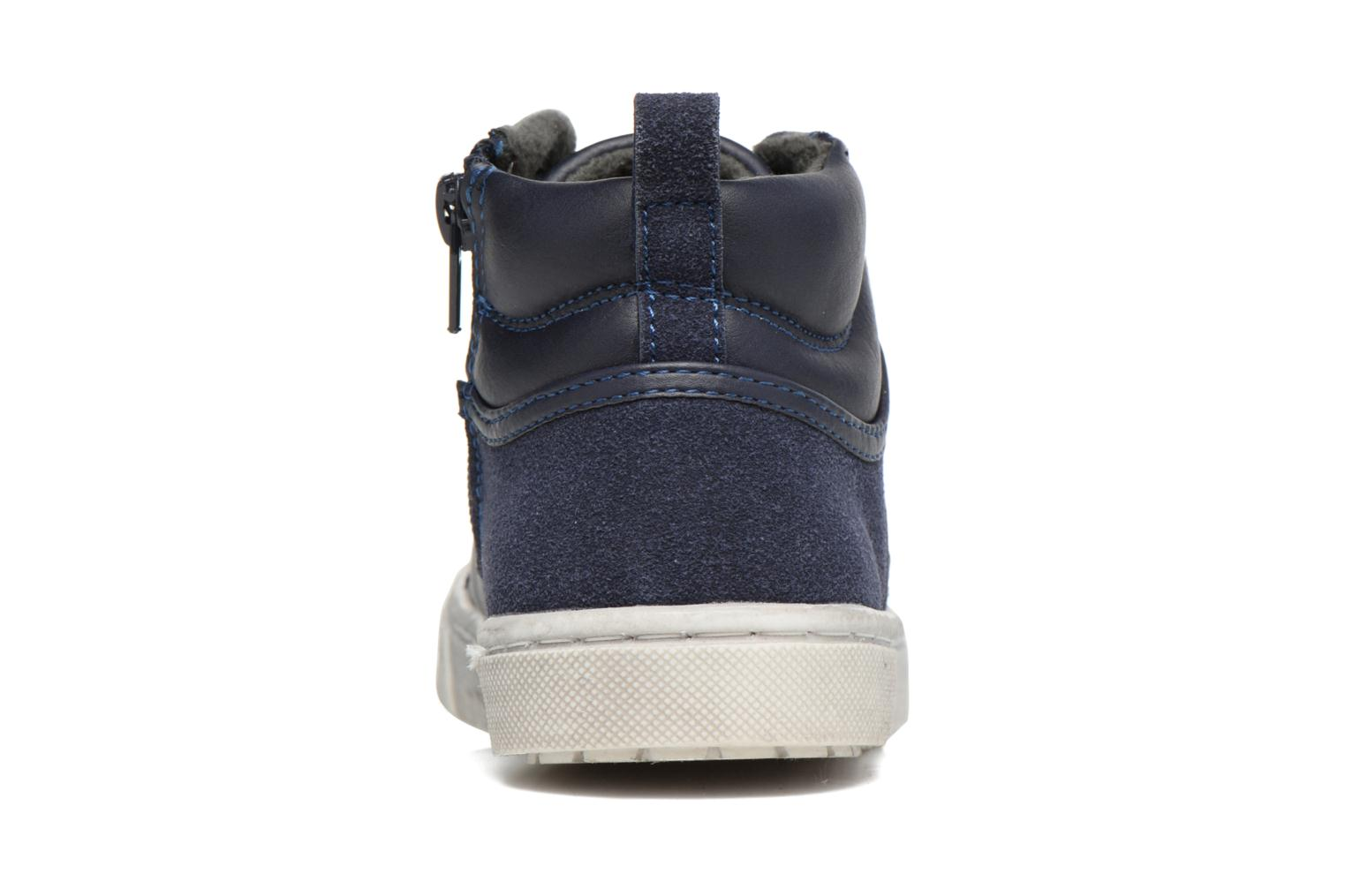 Baskets I Love Shoes xEPHRE Bleu vue droite