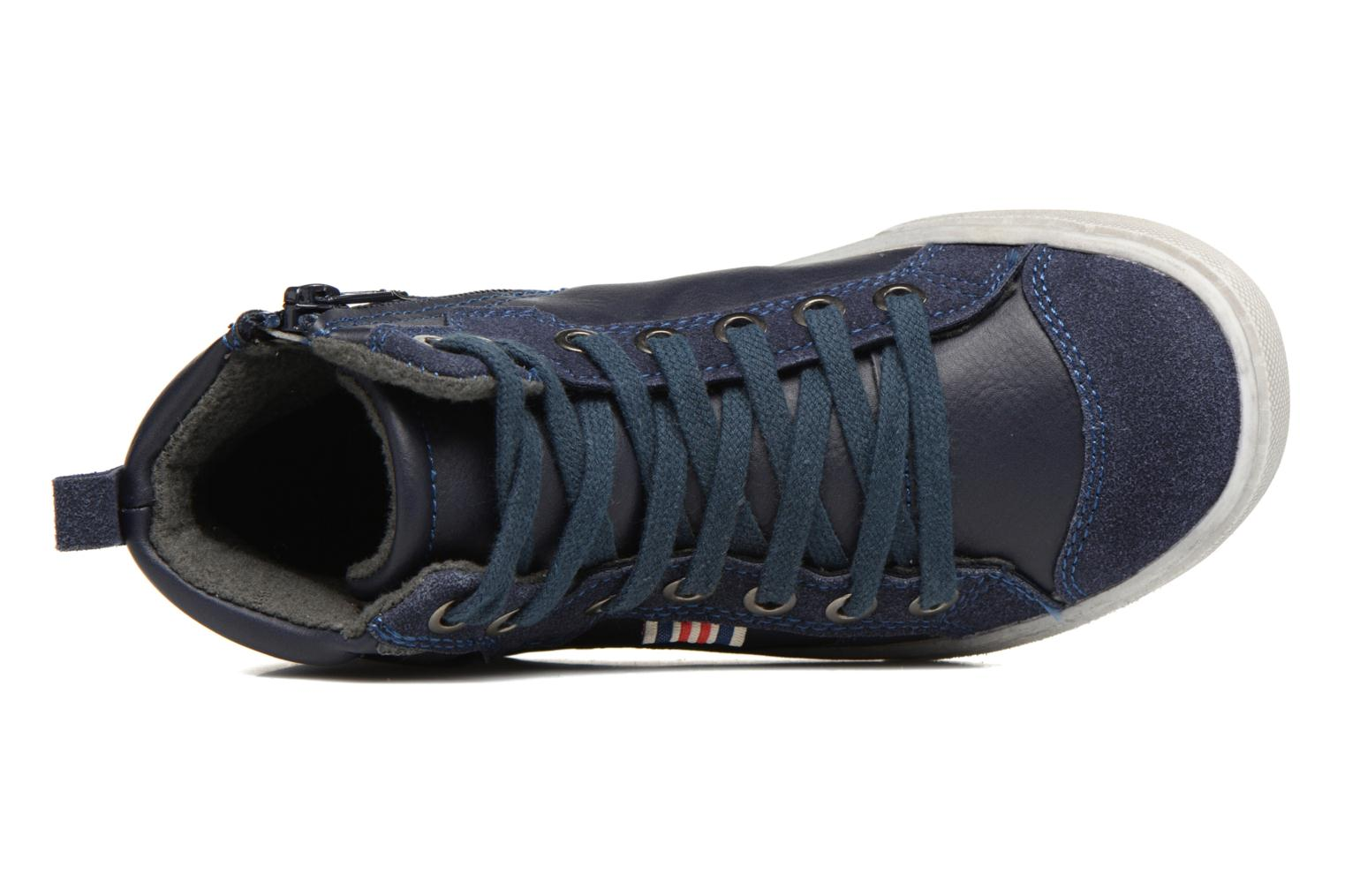 Baskets I Love Shoes xEPHRE Bleu vue gauche