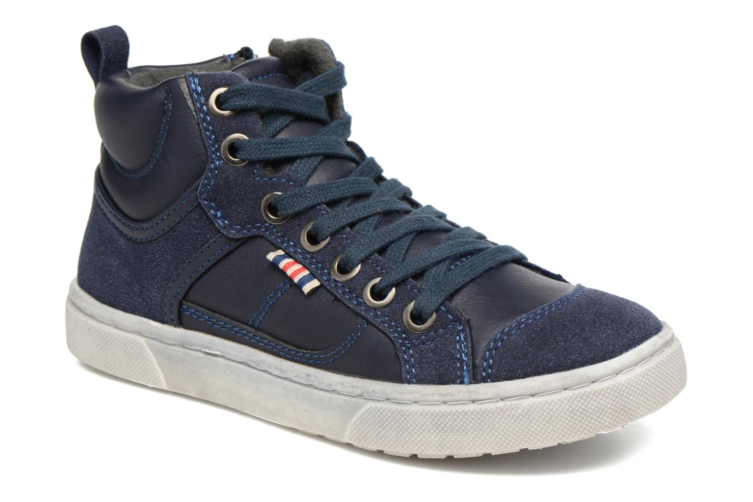Baskets I Love Shoes xEPHRE Bleu vue détail/paire