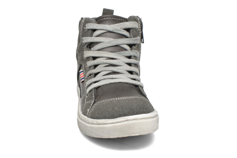 Baskets I Love Shoes xEPHRE Gris vue portées chaussures