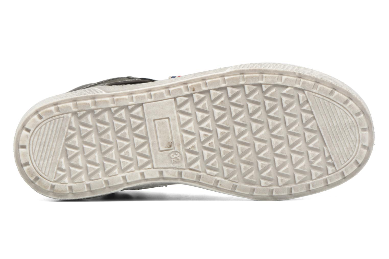 Baskets I Love Shoes xEPHRE Gris vue haut