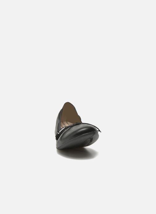 Ballerines Les P'tites Bombes Ella Noir vue portées chaussures