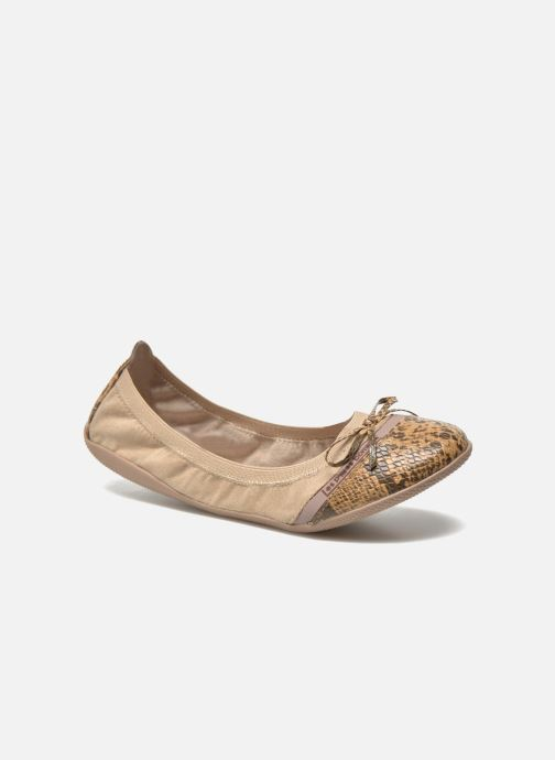 Sarenza Caprice Ballerina's beige Bombes 261672 P'tites Chez Les YqxwHaSUEa