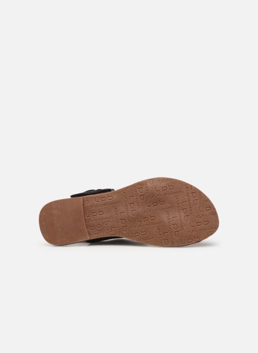 Sandali e scarpe aperte Les P'tites Bombes Pervenche Nero immagine dall'alto