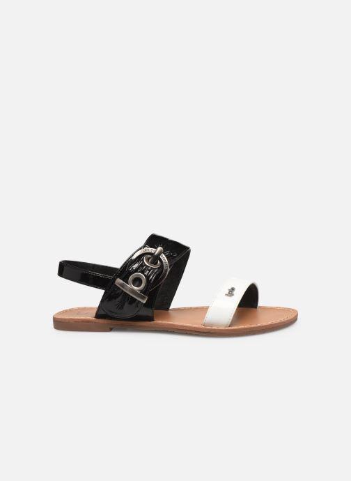 Sandales et nu-pieds Les P'tites Bombes Pervenche Noir vue derrière