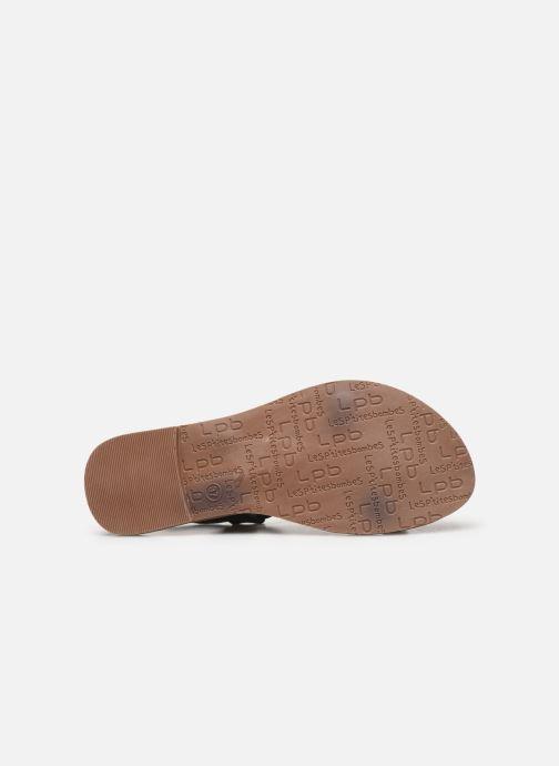 Sandales et nu-pieds Les P'tites Bombes PETUNIA Noir vue haut