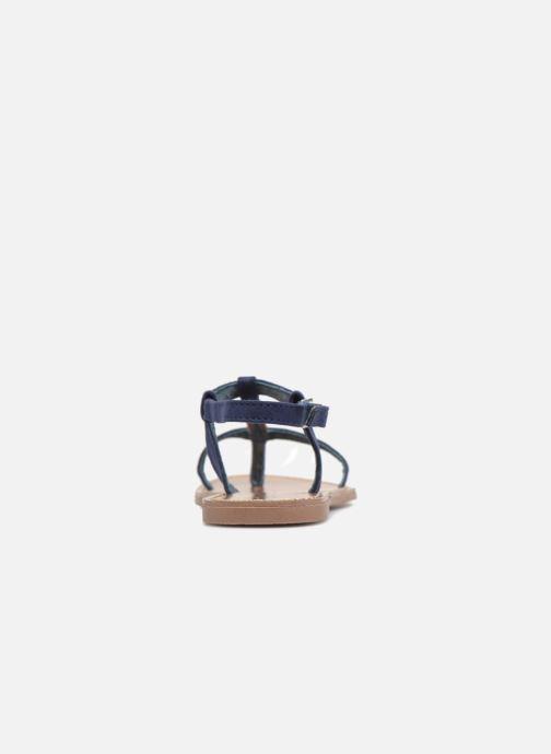 Sandales et nu-pieds Les P'tites Bombes PETUNIA Bleu vue droite