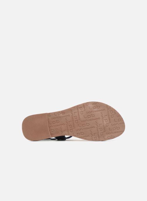 Sandales et nu-pieds Les P'tites Bombes PETUNIA Bleu vue haut