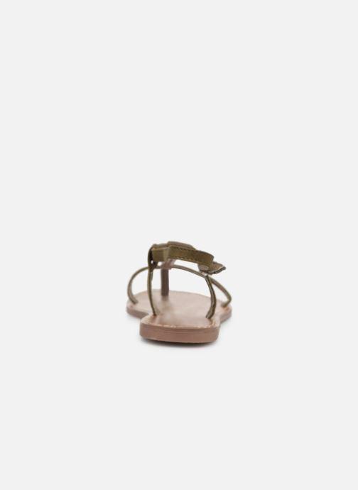 Sandales et nu-pieds Les P'tites Bombes PETUNIA Vert vue droite