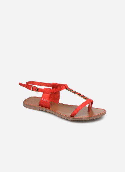 Sandales et nu-pieds Les P'tites Bombes PETUNIA Rouge vue détail/paire