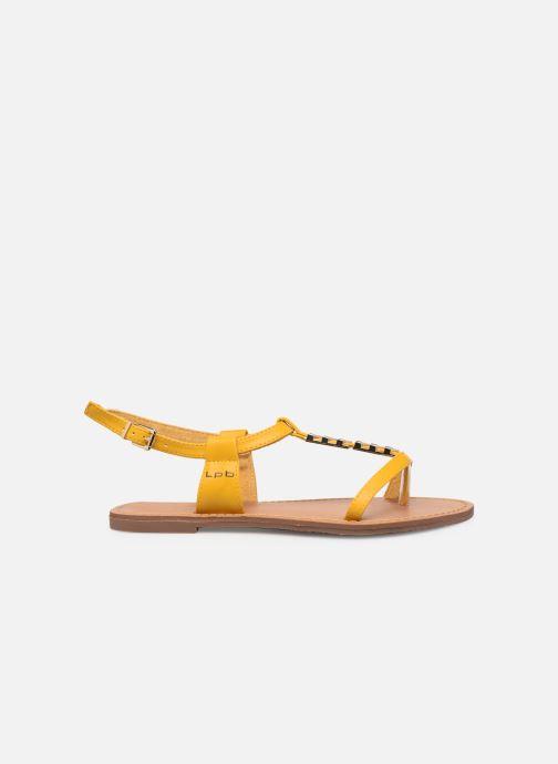 Sandales et nu-pieds Les P'tites Bombes PETUNIA Jaune vue derrière
