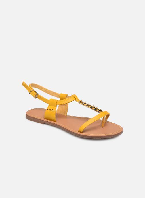 Sandales et nu-pieds Les P'tites Bombes PETUNIA Jaune vue détail/paire