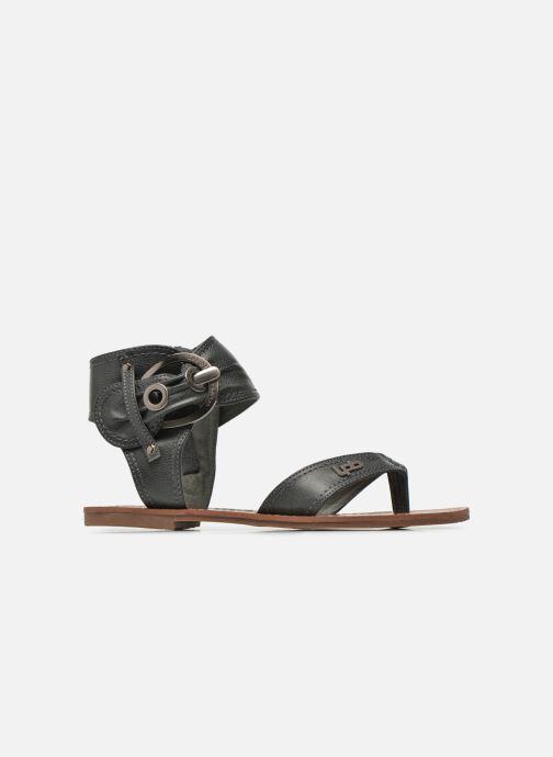 Sandales et nu-pieds Les P'tites Bombes Thalie Noir vue derrière