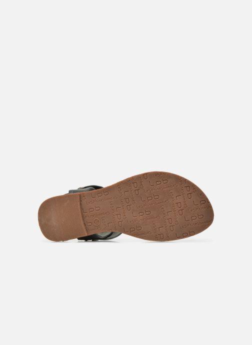 Sandales et nu-pieds Les P'tites Bombes Thalie Noir vue haut