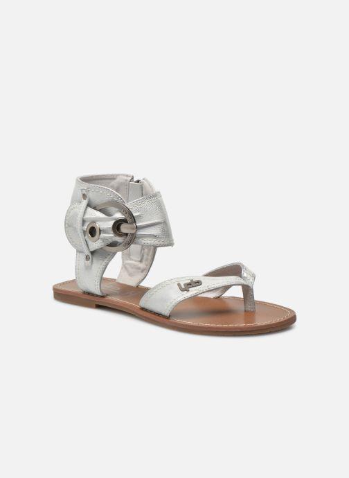 Sandales et nu-pieds Les P'tites Bombes Thalie Argent vue détail/paire