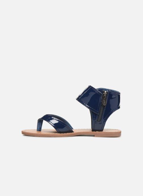 Sandales et nu-pieds Les P'tites Bombes Thalie Bleu vue face