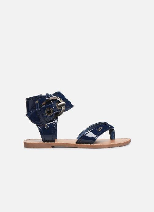 Sandales et nu-pieds Les P'tites Bombes Thalie Bleu vue derrière