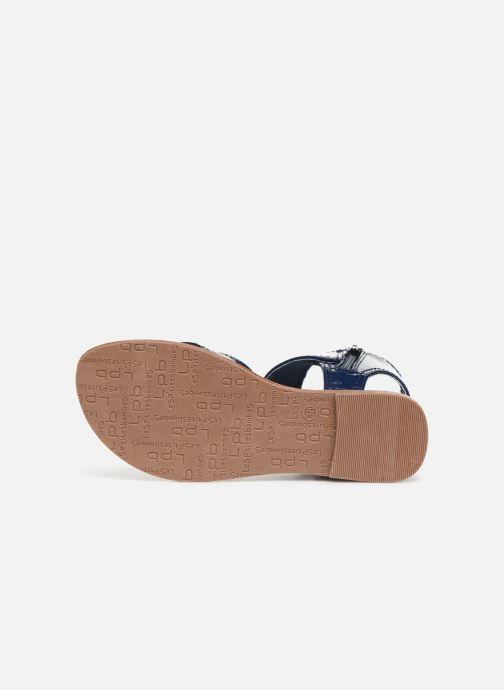 Sandales et nu-pieds Les P'tites Bombes Thalie Bleu vue haut