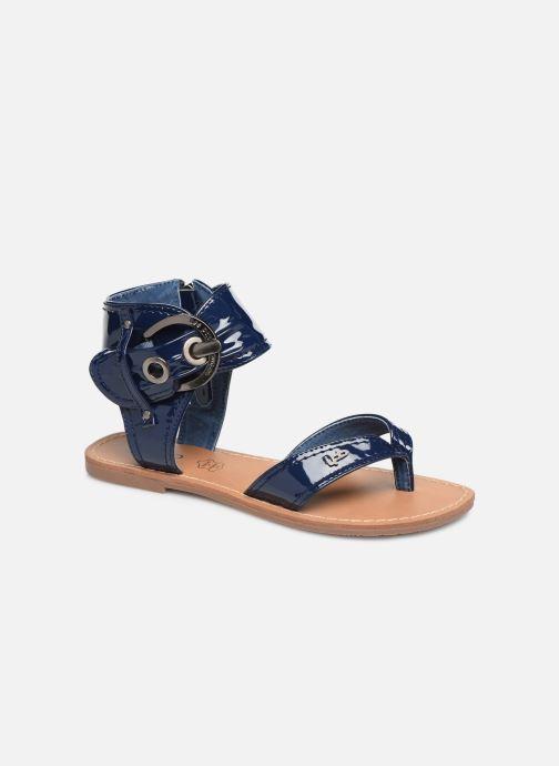 Sandales et nu-pieds Les P'tites Bombes Thalie Bleu vue détail/paire