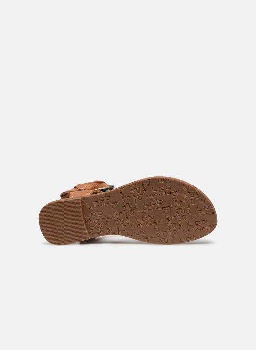 Sandales et nu-pieds Les P'tites Bombes Thalie Marron vue haut