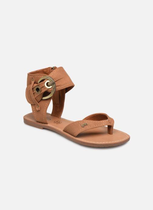 Sandales et nu-pieds Les P'tites Bombes Thalie Marron vue détail/paire